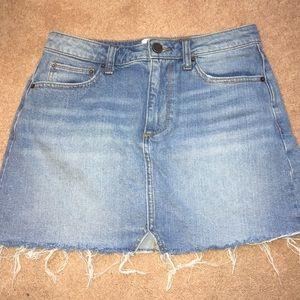 BDG jean skirt